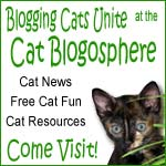 Cat news, fun, friends and resources at the Cat Blogosphere